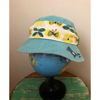 プチジャム(Petit jam)のリボン付き 帽子 女の子 50cm (帽子)