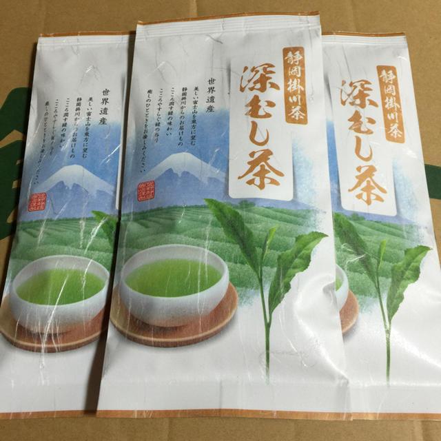 送料込⭐️4860円 白3本 深蒸し茶 食品/飲料/酒の飲料(茶)の商品写真