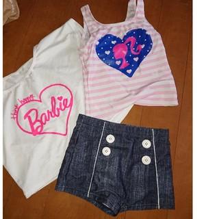 バービー(Barbie)のバービー  女の子用水着130㎝ (水着)