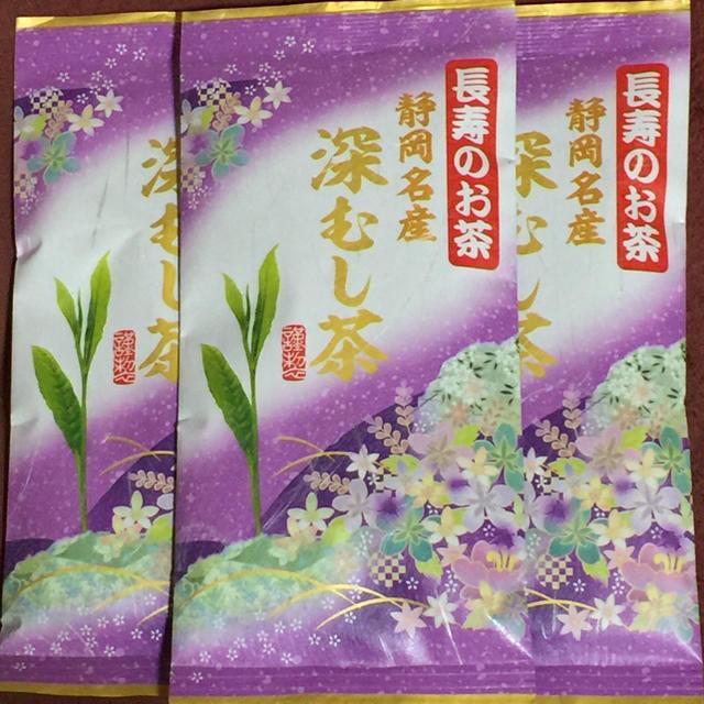 ジョジョ様⭐️送料込⭐️紫5本 深むし茶 食品/飲料/酒の飲料(茶)の商品写真