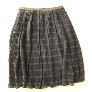バーニーズニューヨーク(BARNEYS NEW YORK)のバーニーズ フレアスカート(ひざ丈スカート)