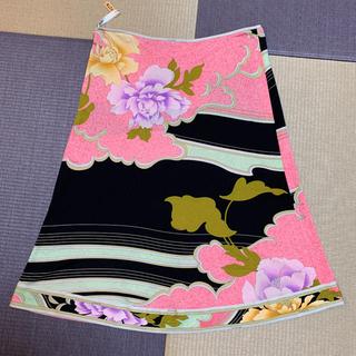 レオナール(LEONARD)のお値下げ 美品☆レオナールパリ☆スカート 42 シルク(ひざ丈スカート)