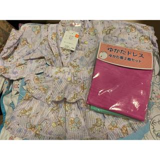 サンリオ(サンリオ)のキキララ 浴衣ドレス 100サイズ(甚平/浴衣)
