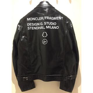 モンクレール(MONCLER)のSIZE 3 moncler fragment Lewis Leathers(レザージャケット)