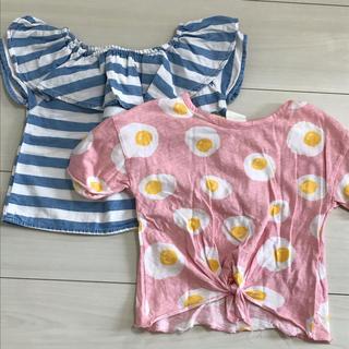 ザラ(ZARA)のZARA キッズ Tシャツ 【2枚セット】(Tシャツ/カットソー)
