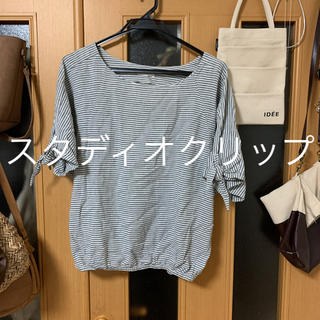 スタディオクリップ(STUDIO CLIP)のスタディオクリップ     コットンリネンブラウス(シャツ/ブラウス(半袖/袖なし))