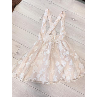 LIZ LISA - LIZLISA ジャンスカ 花柄スカート