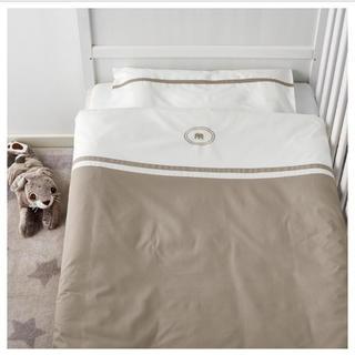 イケア(IKEA)のIKEA ベビー布団掛けカバー・枕カバーセット 新品(シーツ/カバー)