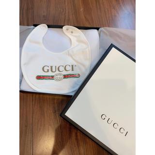 グッチ(Gucci)のグッチ★スタイ ベビー キッズ(ベビースタイ/よだれかけ)