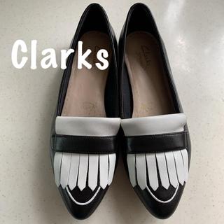 クラークス(Clarks)のClarks クラークス バイカラー ローファー  US 6M(ローファー/革靴)