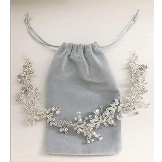 【チューリップ様専用】ウェディングヘッドドレス・ベール(ヘッドドレス/ドレス)