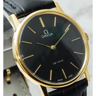 オメガ(OMEGA)の新品仕上&OH済/メガ/cal.625/1970's/デビル/32mm/手巻/黒(腕時計(アナログ))