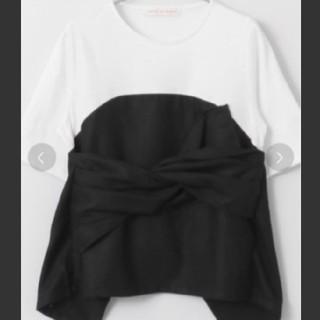 センスオブプレイスバイアーバンリサーチ(SENSE OF PLACE by URBAN RESEARCH)のSENSE OF PLACE ビスチェコンビTシャツ(Tシャツ(半袖/袖なし))