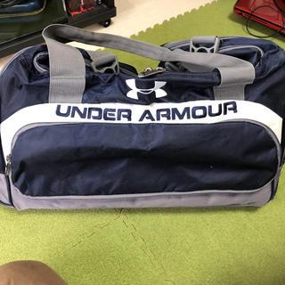 アンダーアーマー(UNDER ARMOUR)のアンダーアーマー  ボストンバッグ ネイビー(ボストンバッグ)