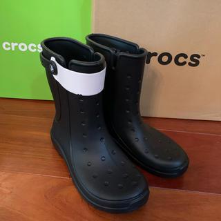 クロックス(crocs)のクロックス レインシューズ reny Ⅱ boot W8(レインブーツ/長靴)