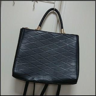 エイチアンドエム(H&M)のH&M 2wayバッグ バッグパック リュック ハンドバッグ ブラック 黒(リュック/バックパック)