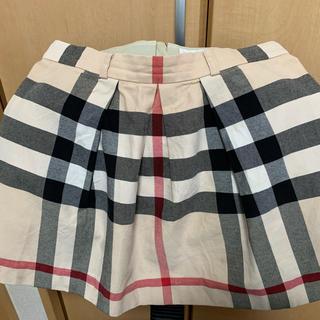 バーバリー(BURBERRY)のBurberry バーバリー スカート 140cm 訳あり 中古品(スカート)