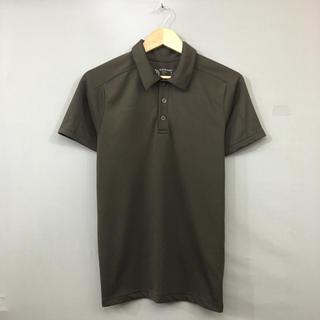 マムート(Mammut)のマムート MAMMUT ドライポロシャツ アウトドア 半袖 ハーフボタン 襟(ポロシャツ)
