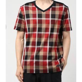 ブラックレーベルクレストブリッジ(BLACK LABEL CRESTBRIDGE)の《新品》ブラックレーベルクレストブリッジ  チェックTシャツ(Tシャツ/カットソー(半袖/袖なし))