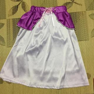 ディズニー(Disney)のラプンツェル スカート プリンセス 仮装 バウンド(ひざ丈スカート)