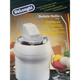 デロンギ(DeLonghi)のぱぽ様 専用  デロンギアイスクリームメーカーIC5000(調理道具/製菓道具)