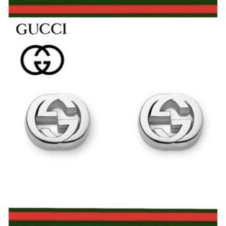 グッチ(Gucci)の新品 GUCCI グッチ ピアス INTERLCKG STUD EARR SLV(ピアス)