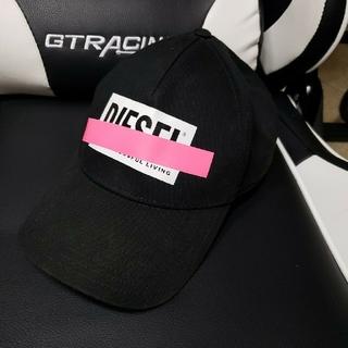 ディーゼル(DIESEL)のディーゼルキャップ 帽子 黒(キャップ)