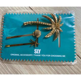スライ(SLY)のSLY髪飾りピンセット(ヘアピン)