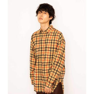 マーカウェア(MARKAWEAR)のmarkaware チェックシャツ サイズ1(シャツ)
