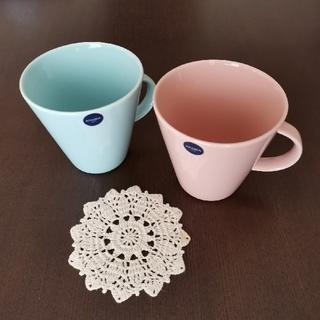 アラビア(ARABIA)の🌼🌿 アラビア ココ (koko) マグカップ 2個(食器)