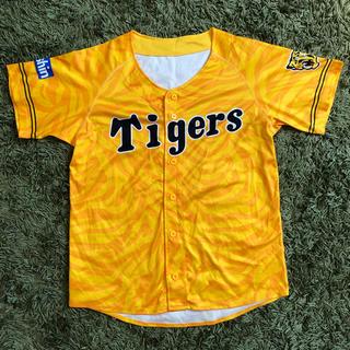ハンシンタイガース(阪神タイガース)の阪神タイガース ユニフォーム 黄色(ウェア)
