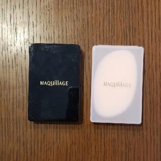マキアージュ(MAQuillAGE)のMAQuillAGEリキッド専用スポンジパフ 2個(パフ・スポンジ)
