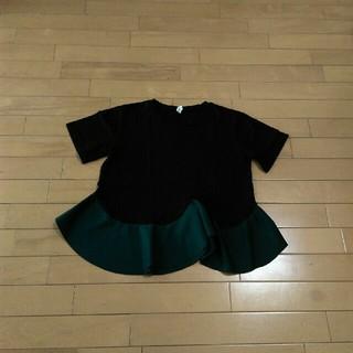 ★レオ様ご専用です★裾フレアートップス♡(カットソー(半袖/袖なし))