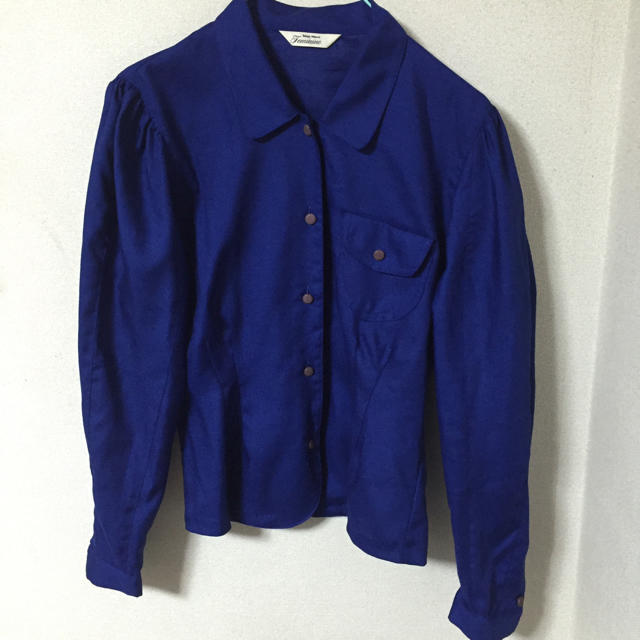 東京ブラウス ブルーシャツ レディースのトップス(シャツ/ブラウス(長袖/七分))の商品写真