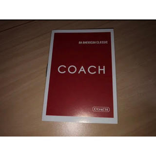 コーチ(COACH)の★COACH コーチ 冊子 ミニサイズ 付属品★(その他)