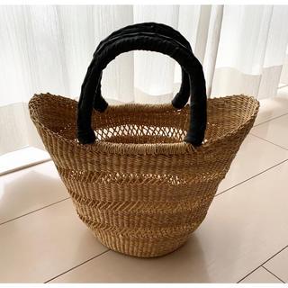 アパルトモンドゥーズィエムクラス(L'Appartement DEUXIEME CLASSE)の極美品 L'Appartement market bag かごバッグ Sサイズ(かごバッグ/ストローバッグ)