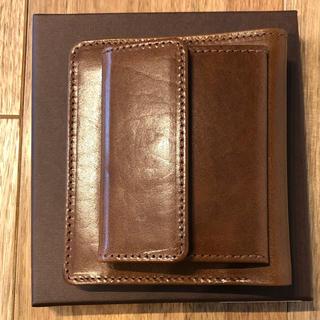 ホワイトハウスコックス(WHITEHOUSE COX)のホワイトハウスコックス 二つ折り財布  S1958  サドルレザー 新品未使用 (折り財布)