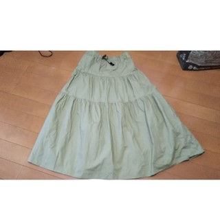 グラミチ(GRAMICCI)のグラミチのスカート M ベージュ(ロングスカート)