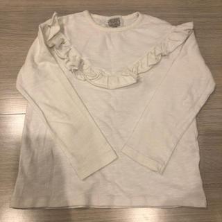 ザラ(ZARA)のZARA ロングT(Tシャツ/カットソー)