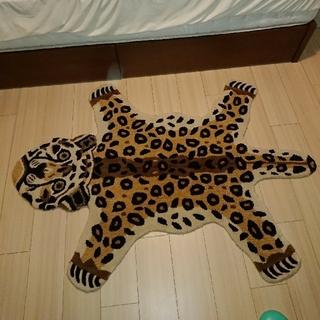 ウニコ(unico)のAAA様専用 unico  ANIMALルームマット 98×140cm レオパー(ラグ)