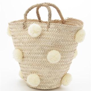 ファティマモロッコ(Fatima Morocco)の半額以下 値下げ ファティマモロッコ バッグ(かごバッグ/ストローバッグ)