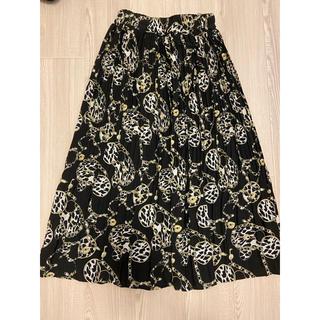 アンティローザ(Auntie Rosa)の〈タグ付き新品・未使用✨〉 Auntie Rosa プリーツスカート(ロングスカート)