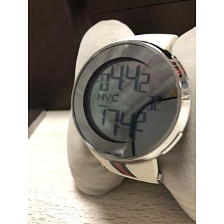グッチ(Gucci)の美品 グッチ アイグッチ 114-2 デジタル 時計(腕時計(デジタル))