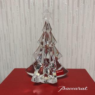 バカラ(Baccarat)のbaccara クリスタル クリスマスツリー(置物)