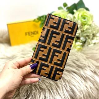 フェンディ(FENDI)の美品 FENDI フェンディ ズッカ iPhoneX スマホケース(iPhoneケース)
