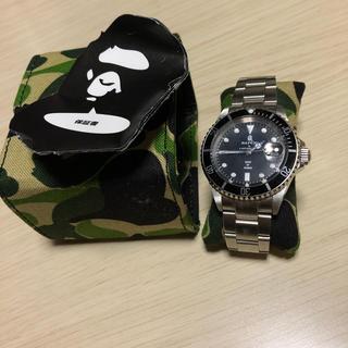 アベイシングエイプ(A BATHING APE)のBAPEX APE ROLEX サブマリーナ サルマリーナ 時計(腕時計(アナログ))