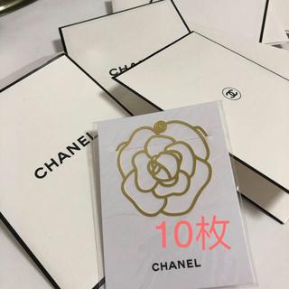 シャネル(CHANEL)のシャネル カメリア ブックマーク しおり(しおり/ステッカー)