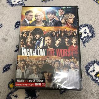 エグザイル トライブ(EXILE TRIBE)のHiGH&LOW THE WORST DVD(日本映画)