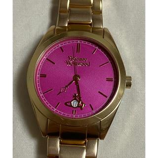 ヴィヴィアンウエストウッド(Vivienne Westwood)のヴィヴィアンウエストウッド ゴールド ピンク 腕時計(腕時計(アナログ))