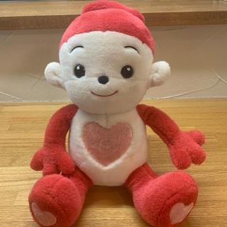 バンダイ(BANDAI)のプリモプエル・おしゃべりする人形・ピンク(ぬいぐるみ/人形)
